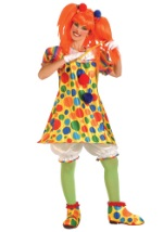 Ladies Giggles the Clown Costume