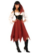 Seafaring Pirate Maiden Costume