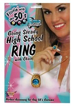 Going Steady Ring Necklace