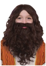 Children's Biblical Beard and Wig Set