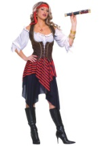 Women's Sweet Buccaneer Costume