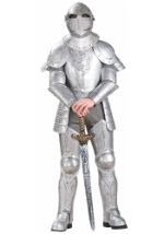Medieval Knight in Armor Costume