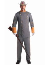 Mens Confederate Officer Costume