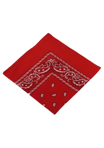 Pirate Red Bandana