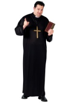 Catholic Priest Plus Costume