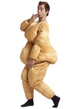 Adult Funny Fat Suit Costume