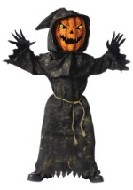 Bobble Eyes Kids Pumpkin Costume
