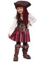 Toddler Caribbean Girl Pirate Costume