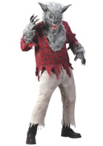 Mens Scary Werewolf Costume