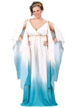 Plus Size Blue Roman Costume