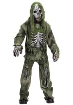 Kids Dead Skeleton Zombie Costume