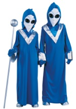 Child Blue Alien Costume