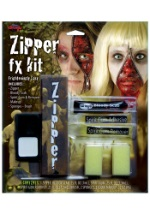 Flesh Zipper Makeup Kit