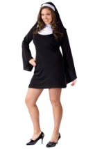 Plus Size Womens Naughty Nun Costume
