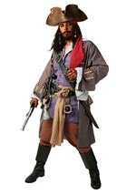 Realistic Caribbean Sea Pirate Costume