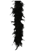 Black Flapper 80 Gram Feather Boa