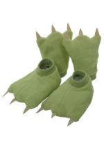 Kids Green Costume Hands and Feet