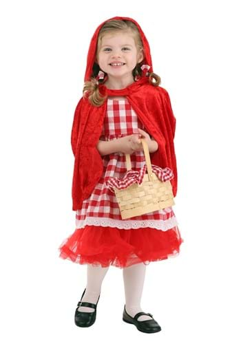Red Riding Hood Toddler Tutu Costume