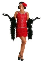 Red Flapper Girl Costume