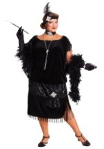 Deluxe Plus Size Chicago Flapper