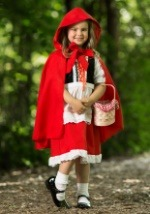 Girls Little Red Riding Hood Deluxe Costume