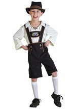 Boys German Lederhosen Costume
