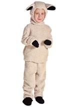 Woolly Child Sheep Costume