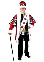 King of Hearts Costume Deluxe