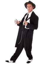 Plus Size Black Zoot Suit Costume