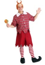 Plus Size Red OZ Munchkin Costume
