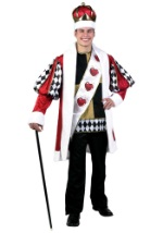 King of Hearts Plus Size Deluxe Costume