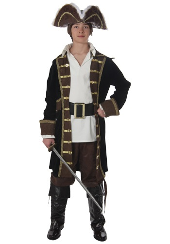First Mate Teen Pirate Costume