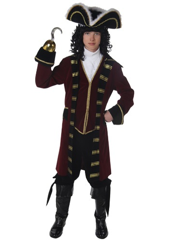 Exclusive Teen Captain Hook Costume