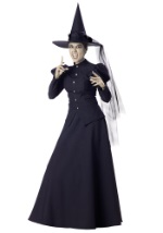 Adult Womens Black Witch Costume