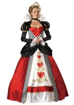 Queen of Hearts Deluxe Adult Costume
