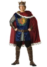 Medieval Noble King Costume