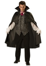 Elegant Mens Midnight Vampire Costume