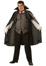 Plus-Size Mens Midnight Vampire Costume
