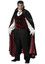 Plus Size Mens Gothic Vampire Costume
