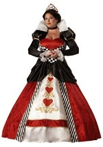 Plus Elite Queen of Hearts Costume