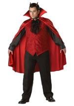 Plus Size Devil Lord Deluxe Costume