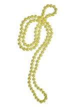 Gold Flapper Bead Necklace