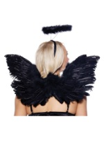 Dark Angel Wings and Halo