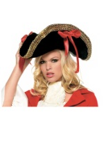 Women's Colonial Pirate Hat