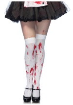Blood Spatter Stockings
