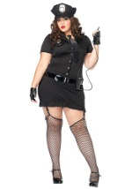 Sexy Dirty Cop Plus Size Costume