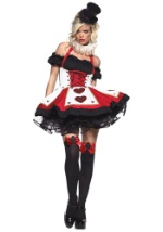 Peasant-Top Queen of Hearts Costume