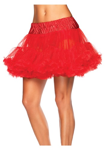 Devil Red Tulle Petticoat