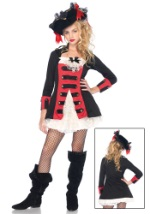 Charming Pirate Captain Teen Costume