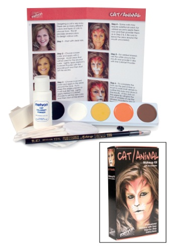 Deluxe Cowardly Lion Makeup Kit
